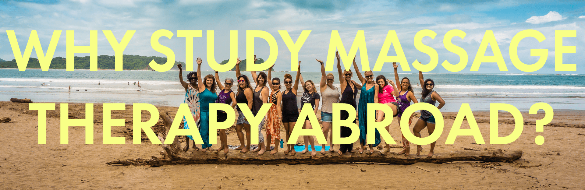 why study massage therapy abroad